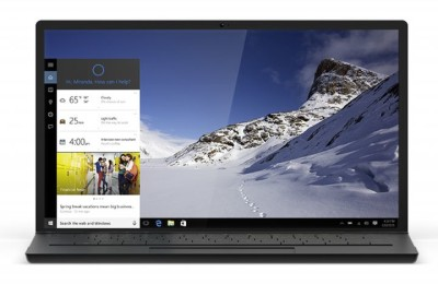 Toshiba laptops will start button Cortana