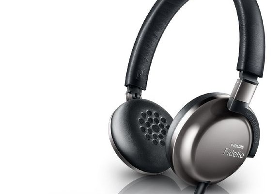 Ultra lightweight headphones Philips Fidelio F1