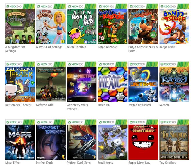 Xbox One backward compatible with Xbox 360