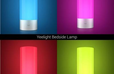 Xiaomi offers a smart lighting Yeelight Bedside Lamp $ 40
