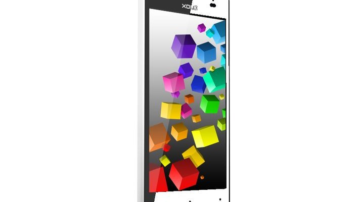 Xolo Cube 5.0 - low-cost smartphone with the original design