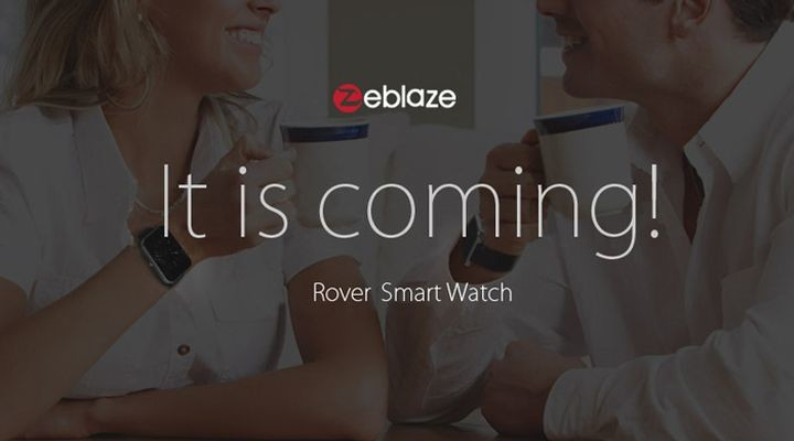Zeblaze Rover new exciting smart watches