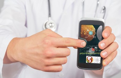 The application for the smartphone allows to diagnose eye problems