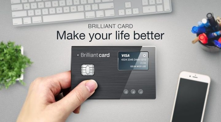 BrilliantTS - smart credit card