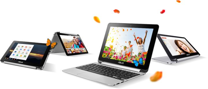 Chromebook Flip C100: new 900-gram Chromebook transformer from ASUS