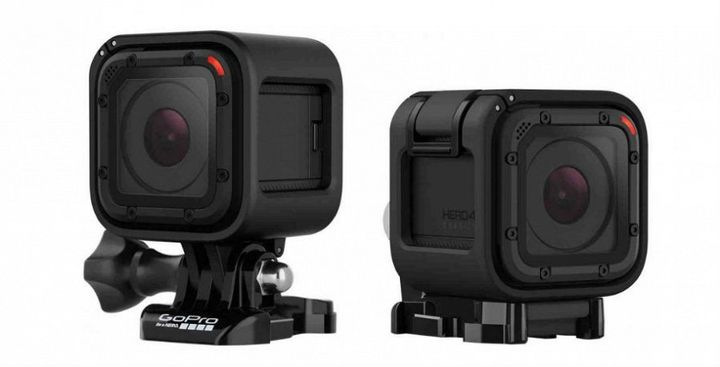 GoPro HERO4 Session: protected Action camera in a new design