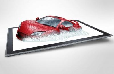 Panasonic presents protected tablet 4k display