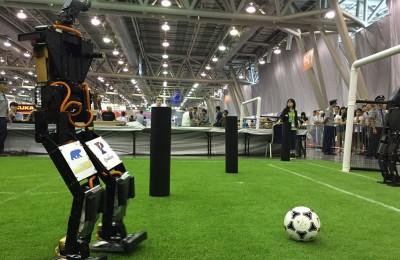 Robot THORwin won the football championship game