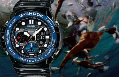 Robust watches Casio G-Shock GN 1000 Golf master
