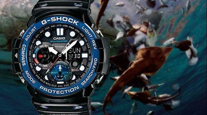 Robust watches Casio G-Shock GN 1000 Golf master