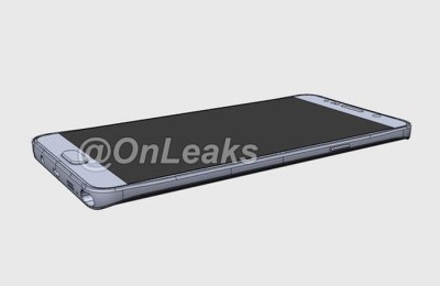 Samsung Galaxy Note 5 design shows a video