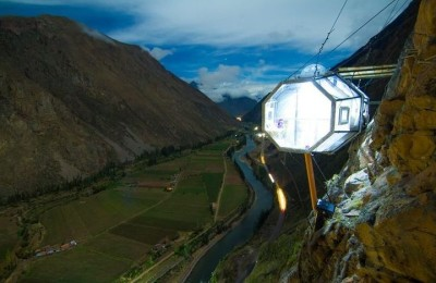 Skylodge Adventure Suites Sacred Valley - hotel on the cliff