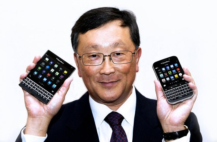 Is the first smartphone BlackBerry on Android phone?