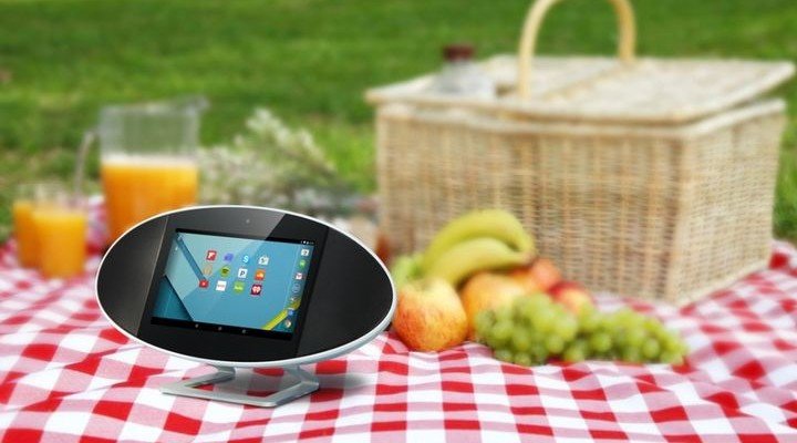 SoundPad MA-327 - smart wireless speakers with a touch screen