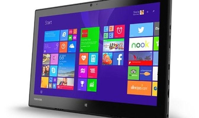 Toshiba Portege WT20: 12,5-inch tablet for $ 900