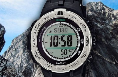 New most reliable wrist watches - Casio ProTrek PRW-3100