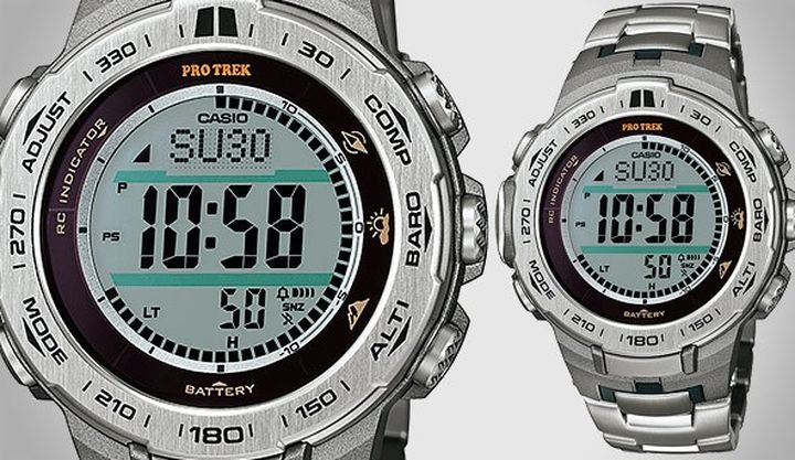 New most reliable wrist watches - Casio ProTrek PRW-3100