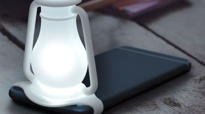 Travelamp: when the smartphone turns into a night light lamp