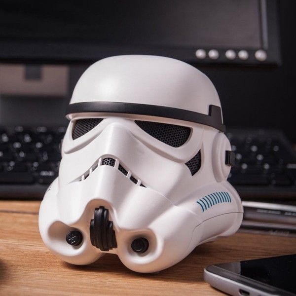 Unusual Wireless Speakers Bluetooth Stormtrooper Helmet Raqwe on bluetooth wireless speakers