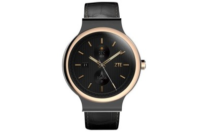 ZTE Axon Watch - waterproof smartwatch 2015 with a round display