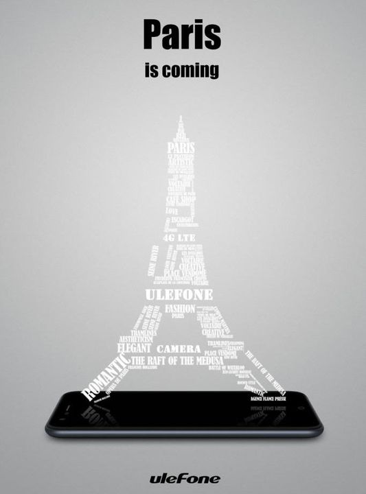 Announced Ulefone Paris specs