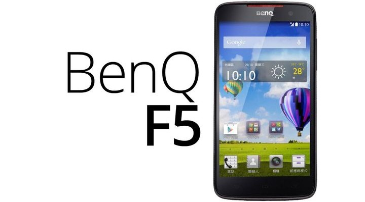 BENQ F5 - new smartphone with a good camera