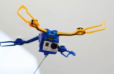 Fotokite Phi - drone on leash