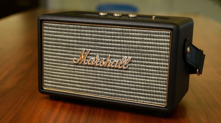 Kilburn - best wireless speaker in the form of a guitar amp Marshall