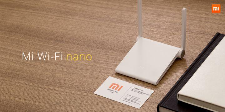 Mi Wi-Fi nano: tiny router from Ksiaomi for $ 12
