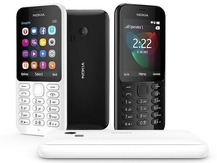 Nokia 222 - new phone from Microsoft
