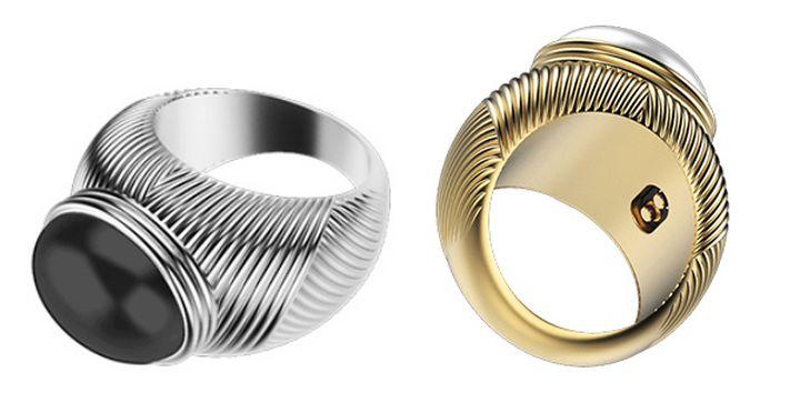 Omate Ungaro - smart ring for lovers