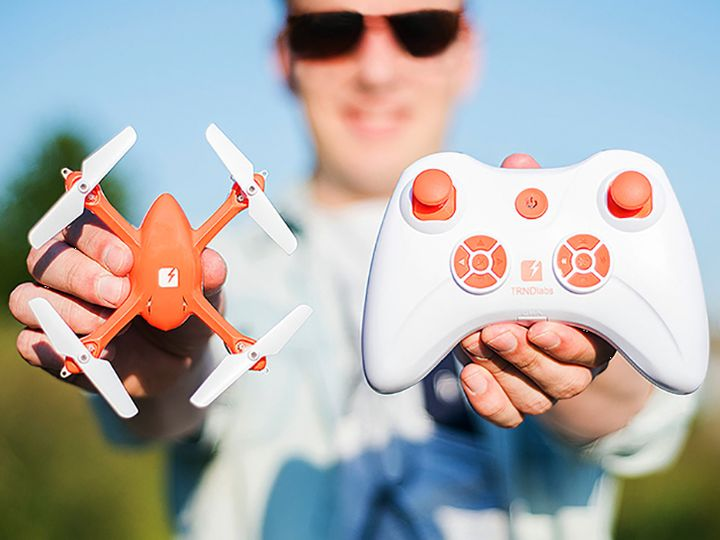 SKEYE Mini Dron - Miniature drone with HD-Camera