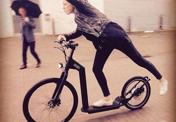 Skujou Cruise - urban electric scooter