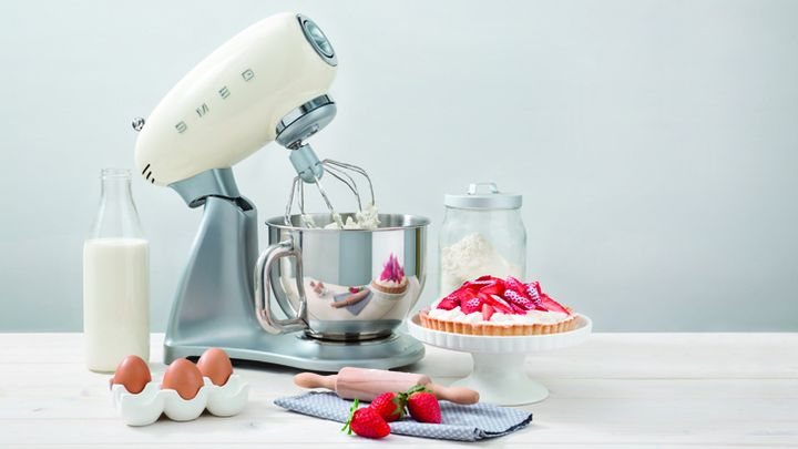 SMEG has released a planetary mixer in a retro style