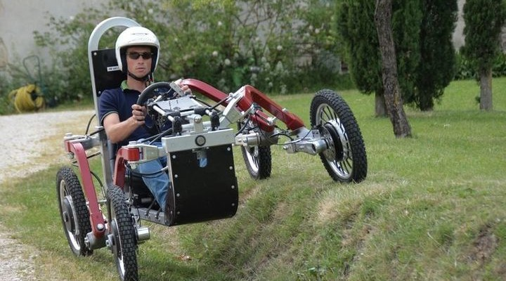 Swincar Spider: extraordinary electric car from France
