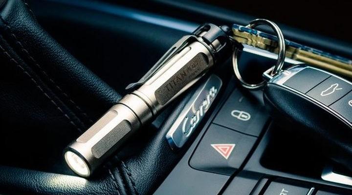 The pocket LED Flashlight SureFire Titan Plus
