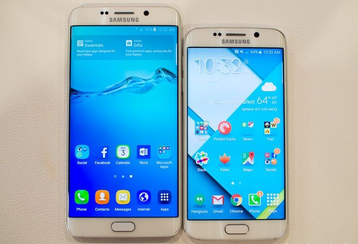Top 8 facts about the new phone 2015: Samsung Galaxy S6 Edge +