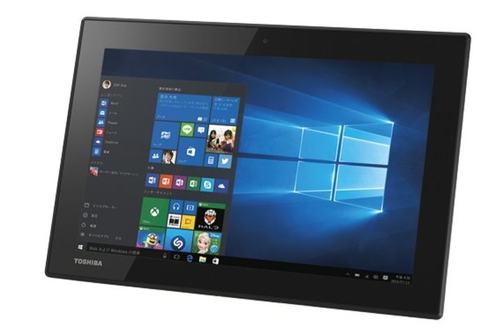 Toshiba Dynabook N40 - tablet running Windows 10