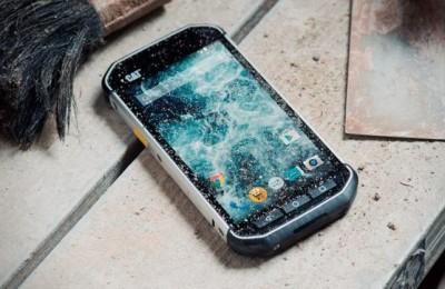 Waterproof and shockproof smartphone 2015 Caterpillar S40 (CAT S40)