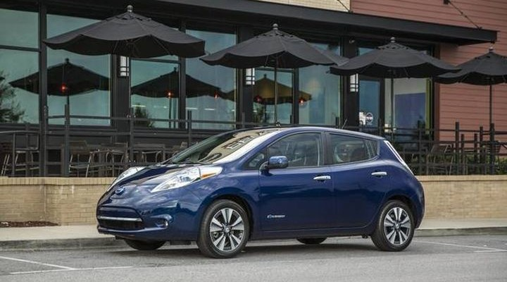 2016 LEAF - new electric car from Nissan