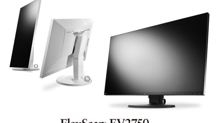 Eizo FlexScan EV2750 - flat panel monitor with a very thin frame