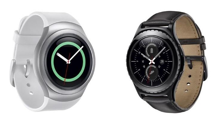 IFA 2015. Samsung is smart watches Samsung Gear S2 OS Tizen