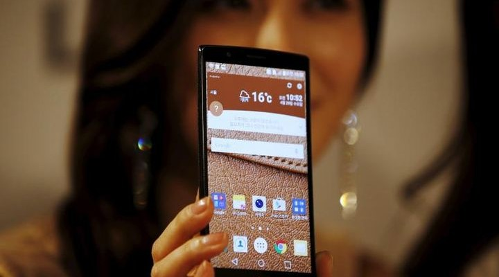 LG V10 welcomes the presentation of the new flagship