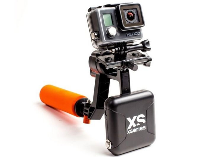 New XSories X-Steady Electro handheld rig for action-cams