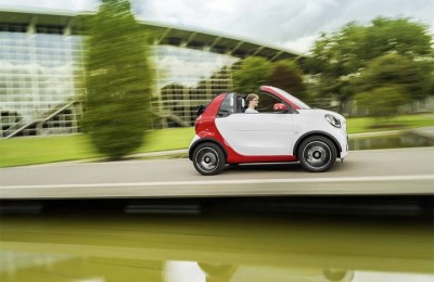 Smart Fortwo Cabrio - a tiny convertible