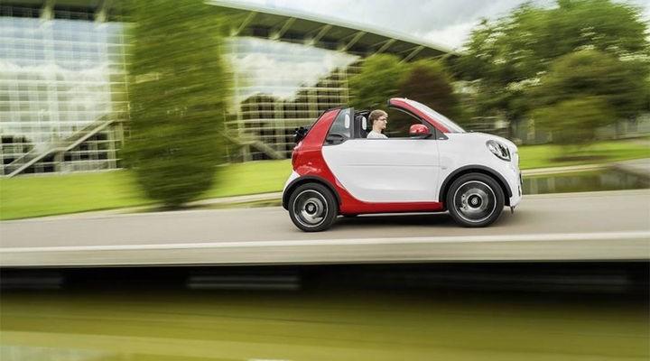 Smart Fortwo Cabrio - a tiny convertible