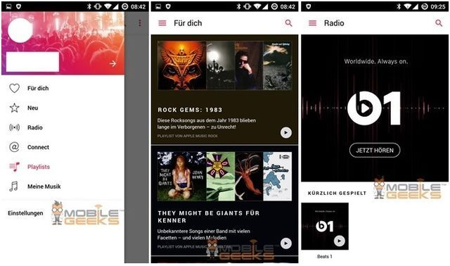 Apple Music for Android will be released in early November