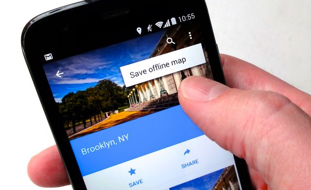 How to use Google Maps without Intenet