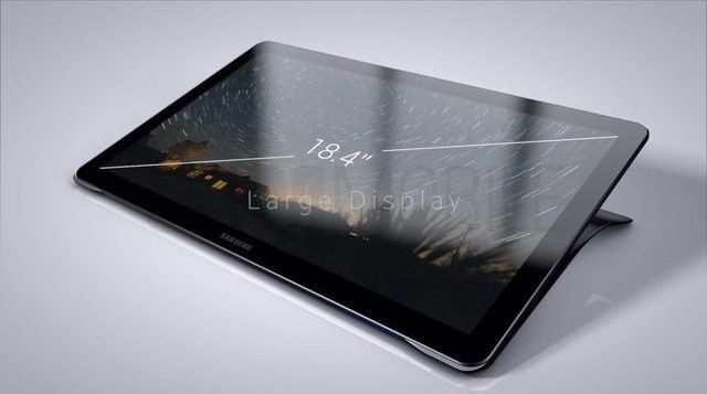 The first images of 18.4-inch tablet Samsung Galaxy View