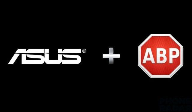 Asus smartphones will use Adblock Plus by default